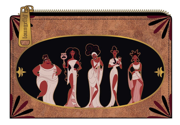 Hercules - Muses Loungefly Flap Purse