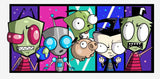 Invader Zim Mug- Cursed Creations