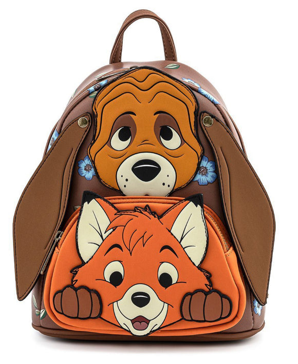 The Fox and the Hound - Todd & Copper Loungefly Mini Backpack
