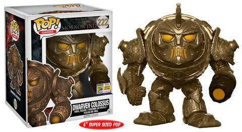 "SDCC 2017 Elder Scrolls Morrowind Dwarven Colossus 6"" Pop Vinyls"