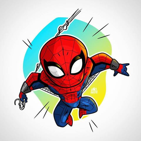 Mike Spiers spiderman Print