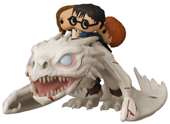 Harry Potter - Gringott's Dragon with Harry, Ron & Hermione Pop! Ride