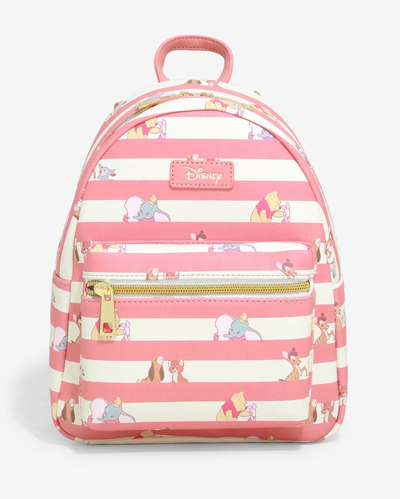 Disney - Loungefly Best Friends Stripe US Exclusive Mini Backpack