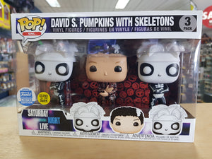 SNL - David s. Pumpkins with Skeletons Funko Shop Exclusive Pop Vinyl