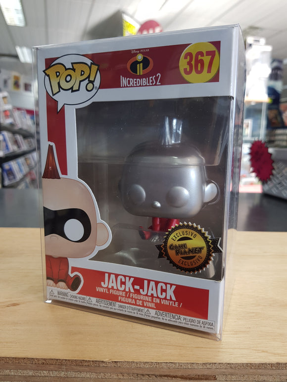 Incredibles 2 - Jack-Jack Game Planet Exclusive Pop Vinyl