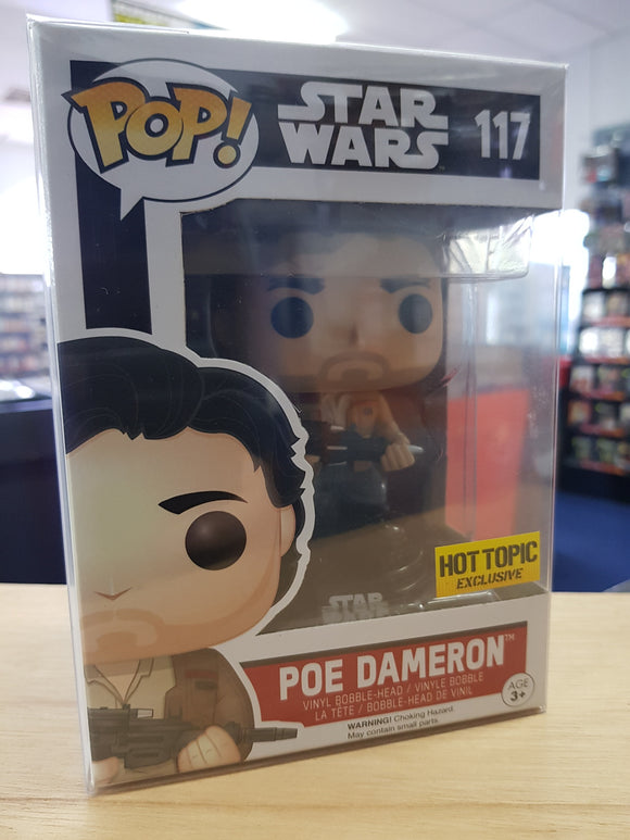 Star Wars - Poe Dameron Hot Topic Excl Pop Vinyl