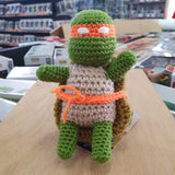 TMNT - Michelangelo Hand Crocheted Plush Figure
