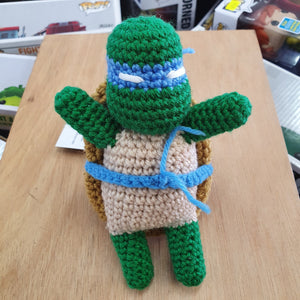 TMNT - Leonardo Hand Crocheted Plush Figure