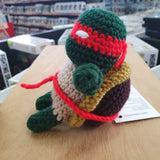 TMNT - Raphael Hand Crocheted Plush Figure