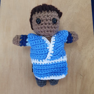 Avatar the Last Airbender - Katara Hand Crocheted Plush Figure