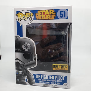Star Wars Tie Fighter Pilot Hot Topic Excl Pop Vinyl