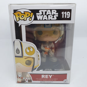 Star Wars - Rey with X-Wing Helmet Pop! Vinyl