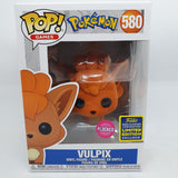 Pokemon - Vulpix Flocked Pop! SDCC 2020 Exclusive Pop Vinyl
