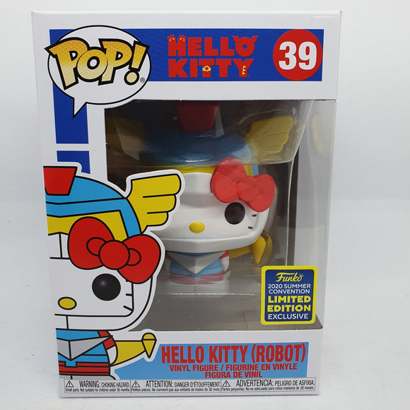 Hello Kitty - Robot Kitty Pop! SDCC 2020 Exclusive Pop Vinyl