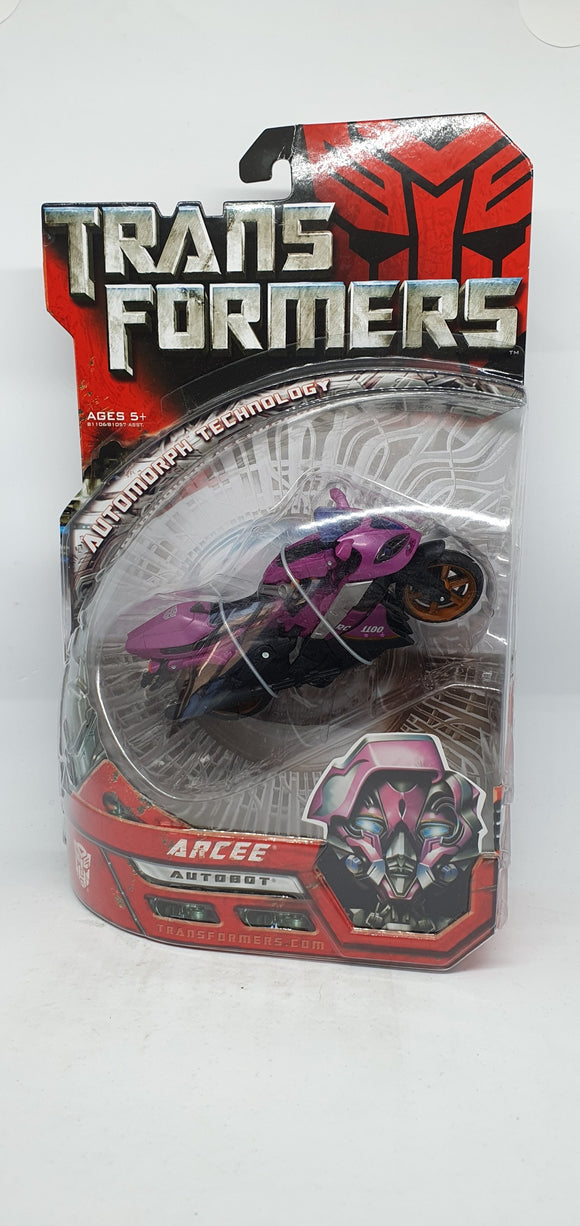 Transformers Collectors Club - Arcee Autobot, Automorph Technology Figurine