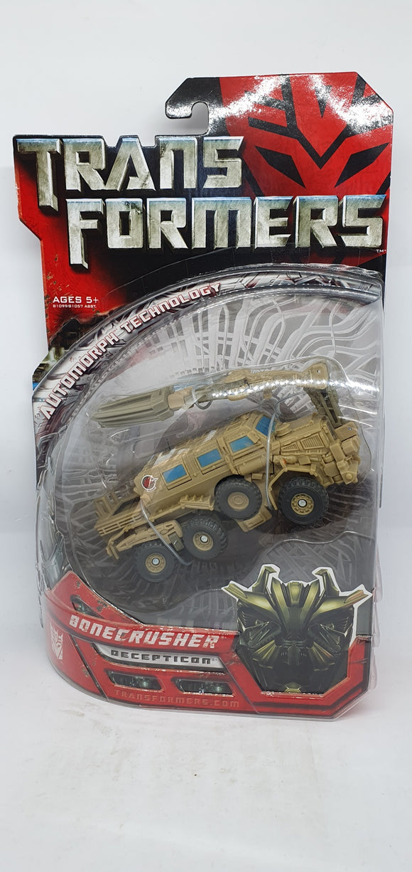 Transformers Collectors Club - Bonecrusher Decepticon, Automorph Technology Figurine