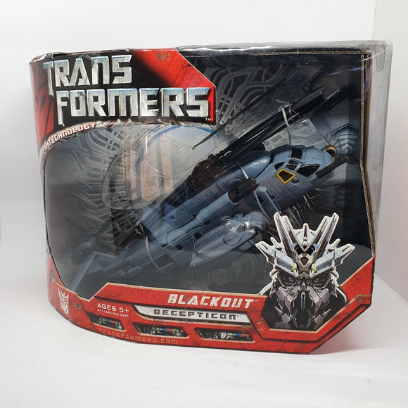 Transformers  - Blackout, Advanced Automorph Technology Figurine