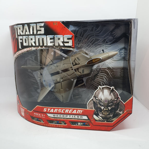 Transformers  - Starscream, Advanced Automorph Technology Figurine