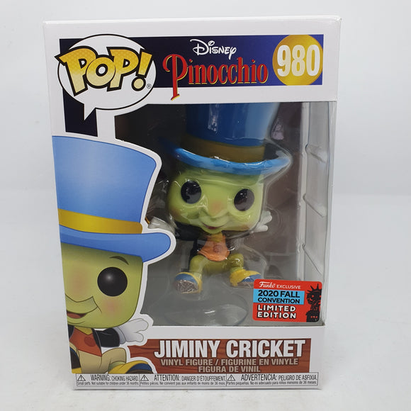 Pinocchio - Jiminy Cricket Pop! NYCC 2020 RS