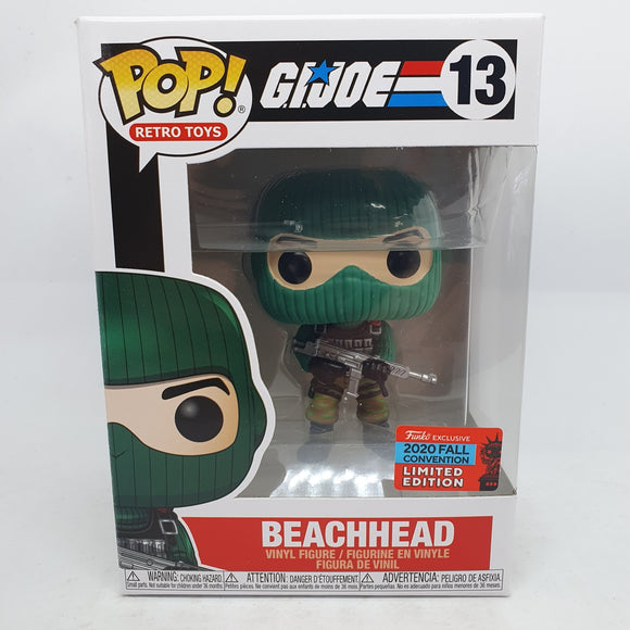 GI Joe - Beach Head Pop! NYCC 2020 RS
