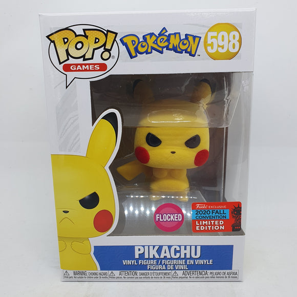 Pokemon - Pikachu Grumpy FL Pop! NYCC 2020 RS