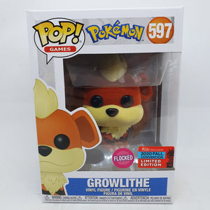Pokemon - Growlithe FL Pop! NYCC 2020 RS