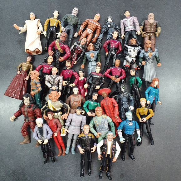 Star Trek - 37 Loose Star Trek Figurines