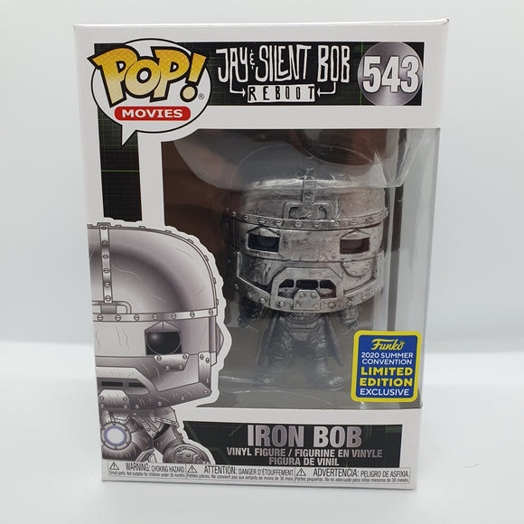 Iron Bob SDCC 2020 Excl Pop! Vinyl Figure