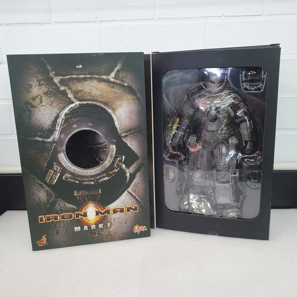 IRON MAN MARK I - 1/6TH SCALE LIMITED EDITITION COLLECTABLE HOT TOY FIGURINE (Original Version)