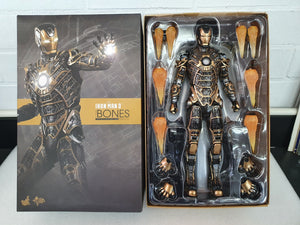 IRON MAN 3 BONES (MARK XLI) 1/6TH SCALE  COLLECTABLE HOT TOY FIGURINE