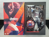 AVENGERS: AGE OF ULTRON CAPTAIN AMERICA 1/6TH SCALE COLLECTIBLE FIGURE COLLECTABLE HOT TOY FIGURINE