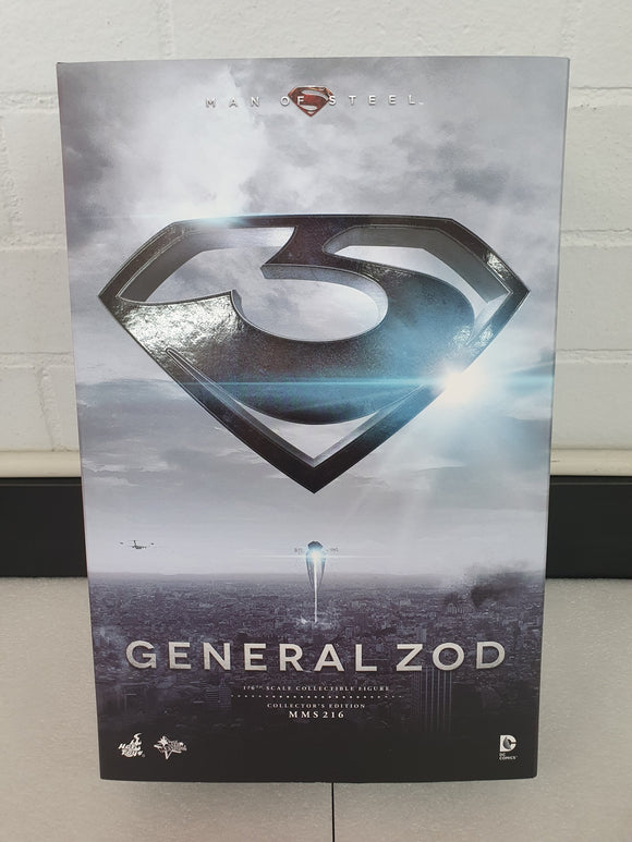MAN OF STEEL GENERAL ZOD 1/6TH SCALE COLLECTABLE HOT TOY FIGURE