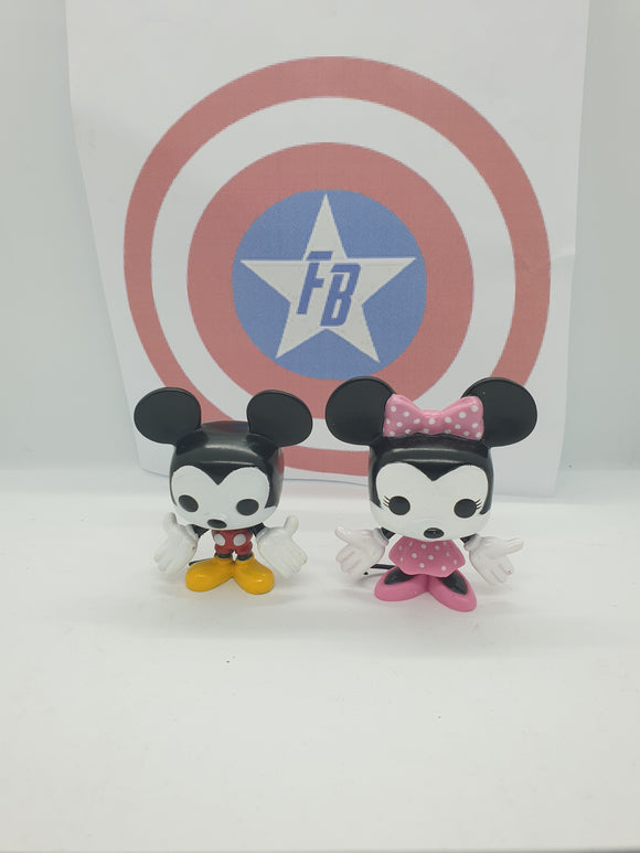 Disney - Mickey & Minnie Minis Out of Box Pop! Vinyl
