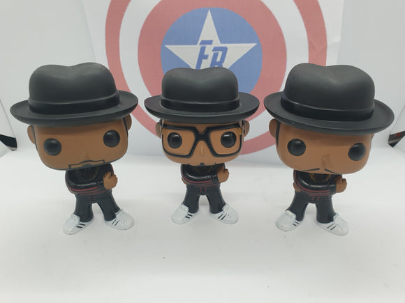 Run DMC Out of Box Pop! Vinyl Set (3 Pops)