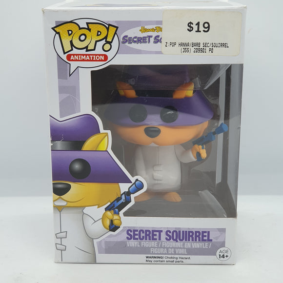 Secret Squirrel Pop Vinyl