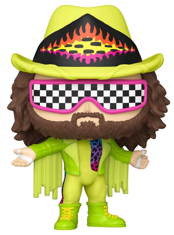 WWE - Macho Man Green US Exclusive Pop! Vinyl [RS]