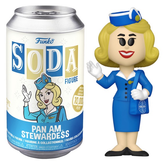 Pan Am - Stewardess Vinyl Soda