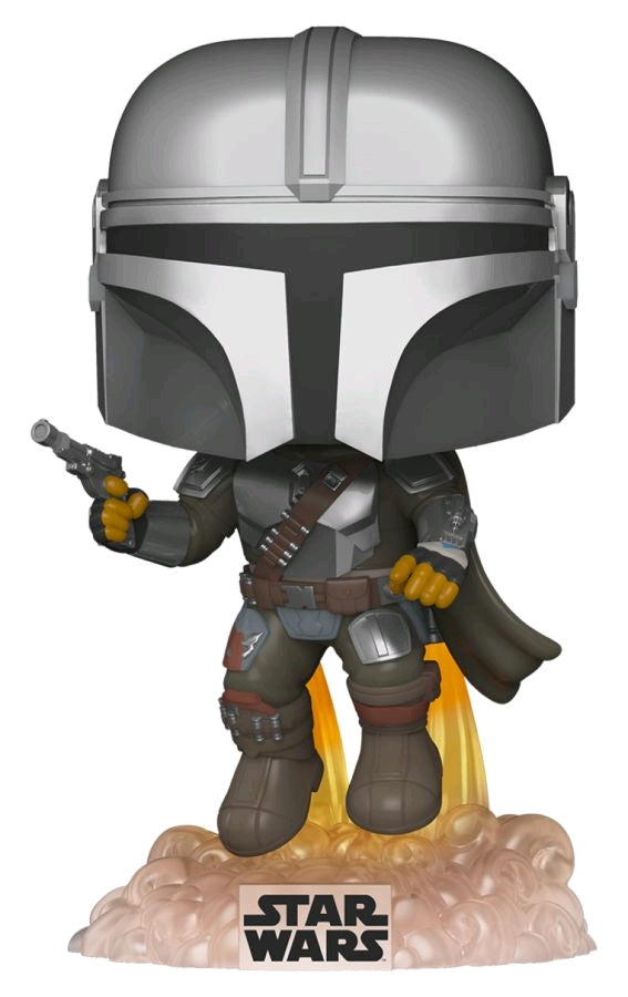 Star Wars: The Mandalorian - Mandalorian Flying US Exclusive Pop! Vinyl [RS]