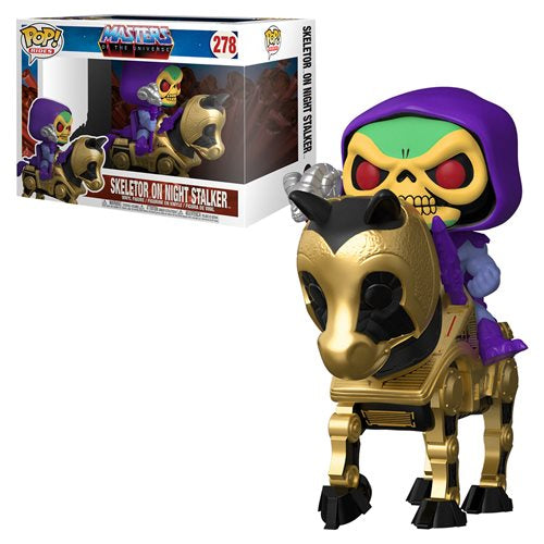 Masters of the Universe - Skeletor with Night Stalker Pop! Ride