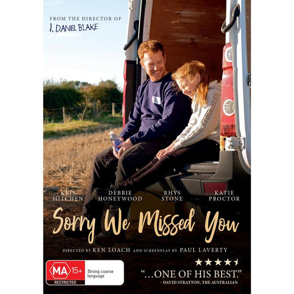 Sorry We Missed You (Brand New DVD)