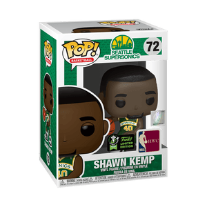 NBA - Shawn Kemp (Green Uniform) ECCC 2020 Excl Pop Vinyl (RS)