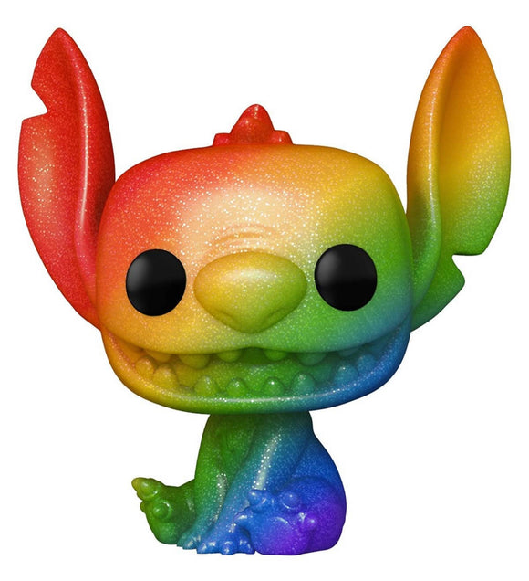 Lilo & Stitch - Stitch Rainbow Pride Diamond Glitter US Exclusive Pop! Vinyl [RS]