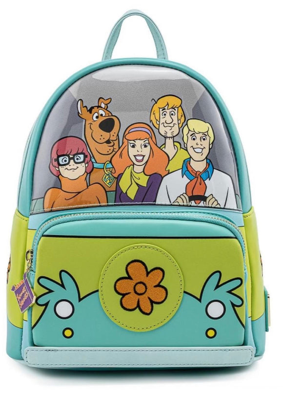 Scooby Doo - Mystery Machine Loungefly Mini Backpack