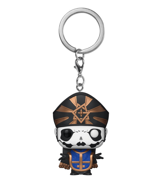 Ghost - Papa Emeritus IV Metallic US Exclusive Pocket Pop! Keychain [RS]