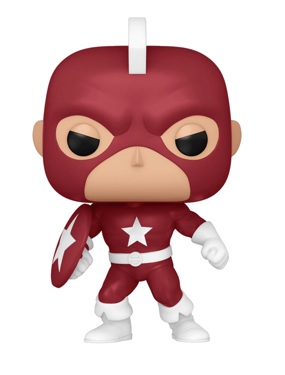Marvel Comics - Red Guardian Year of the Shield US Exclusive Pop! Vinyl [RS]