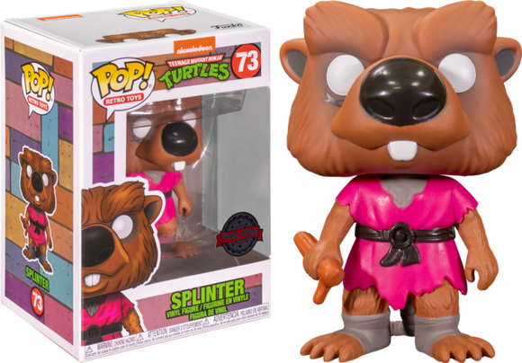 Teenage Mutant Ninja Turtles - Splinter US Exclusive Pop! Vinyl [RS]