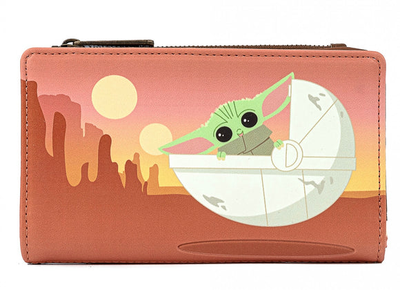 Star Wars: The Mandalorian - The Child Wait For Me Loungefly Purse