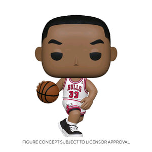 NBA: Legends - Scottie Pippen (Bulls Home) Pop! Vinyl