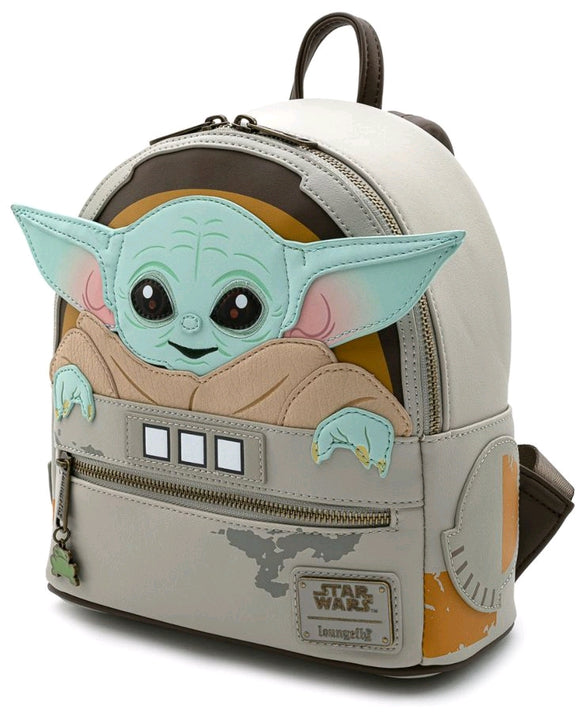 Star Wars: The Mandalorian - Loungefly The Child Cradle Mini Backpack