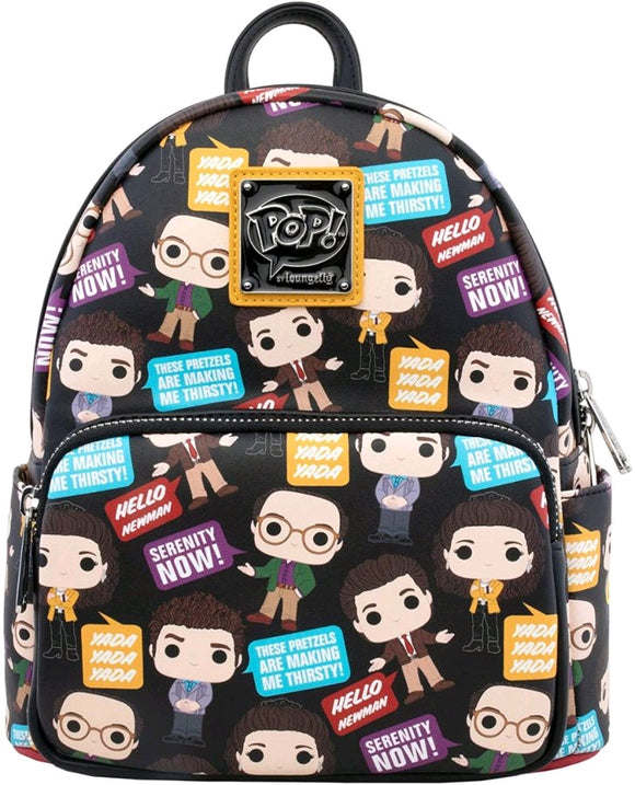 Seinfeld - Pop! & Quotes Loungefly Mini Backpack